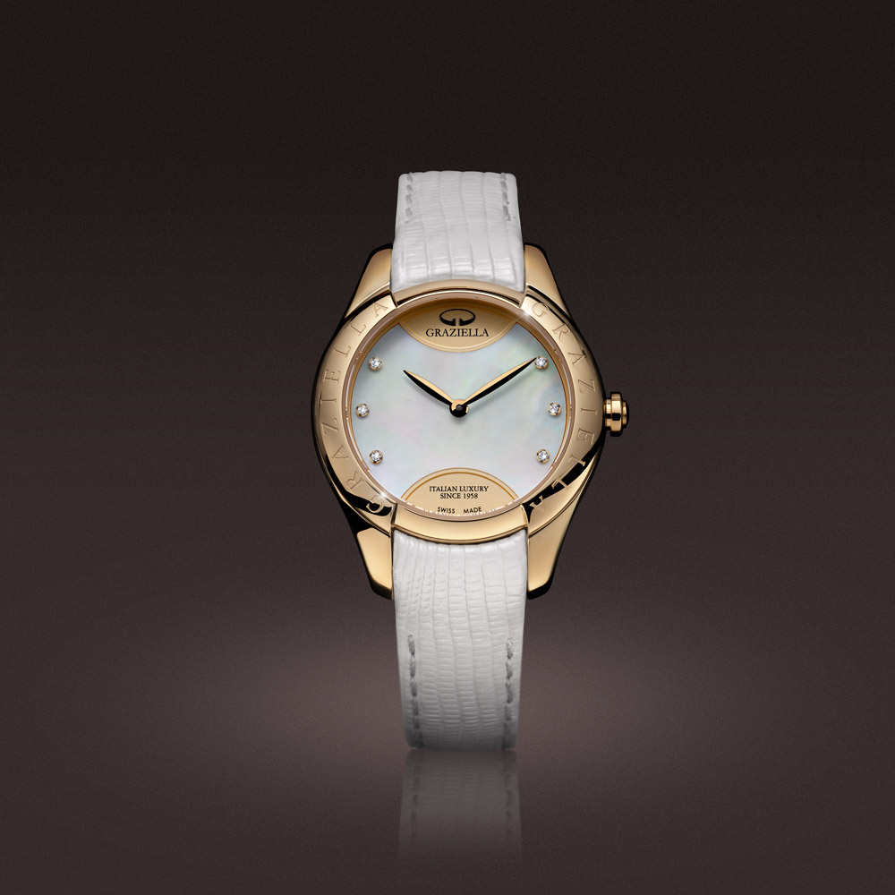 Intrecci Mother of pearl dial
