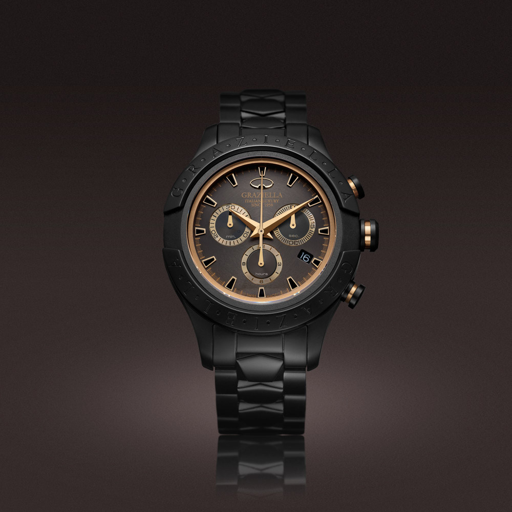 Sport Chrono pvd black Man